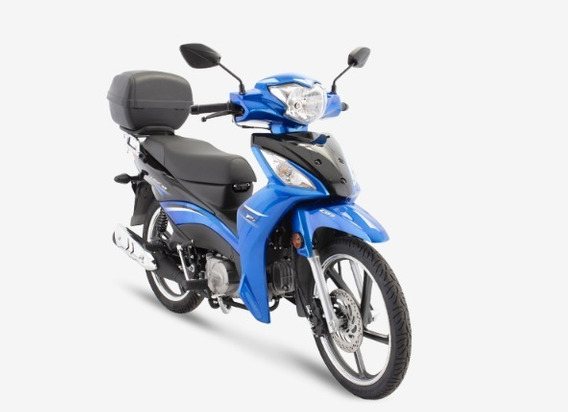 Yamaha Crypton - Haojue Nex 115 Fi - 72 Km/l - ( J )