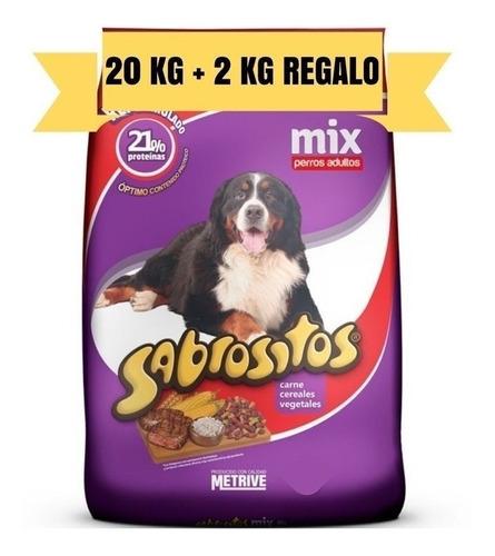 Imagen 1 de 2 de Alimento Perro Sabrositos Mix 20k + 2k + 4 Pates + Snacks
