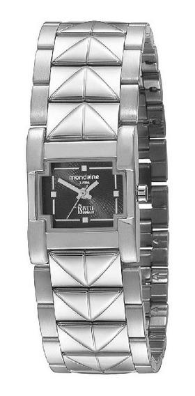 Relógio Mondaine Feminino Analógico Prata Bracelete