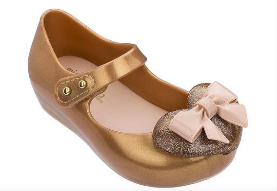 Zapatos Niña Bebé Flats Mini Melissa 2020 Moño Corazón
