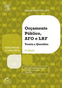 Livro Orçamento Público E Administração Financeira