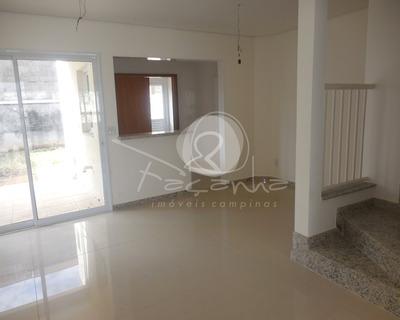 Casa A Venda Em Condomínio Fechado No Bairro Santa Cândida. Imobiliária Em Campinas. - Ca00563 - 32854287