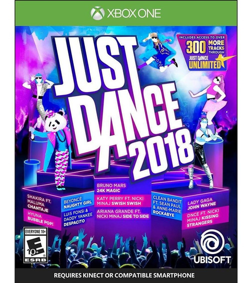 Just Dance 2018 Xbox One Mídia Física Novo Lacrado -