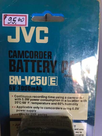 Bateria P/filmadora Jvc- Bn- V25u- 6v