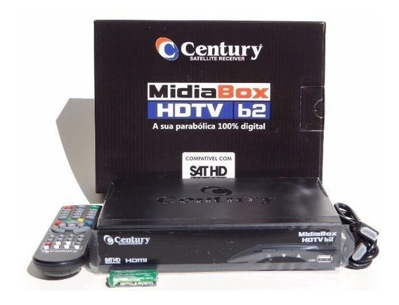 Receptor Digital Para Antena Parabólica Midiabox Century B2