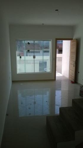 Imagem 1 de 14 de Excelente Sobrado À Venda - 3 Dormitórios - 4 Vagas - Vila Pires - Santo André-sp - 30433