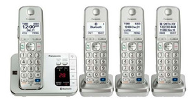 Telefono Inalambrico Panasonic Bluetooth 4 Kx-tg674sk