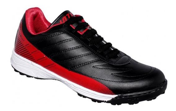 Tenis De Hombre Color Negro Rojo-mod.4070in7542261