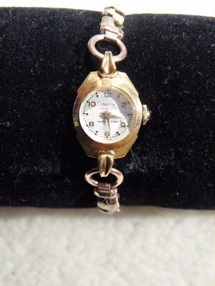 1 Relógio Omodox Feminino Plaqué Anos 50 Func. Bracelete.