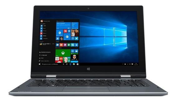 Notebook 2 Em 1 Positivo Dual Core 4gb 32gb Emmc Tela 11.6