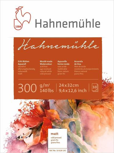 Papel Hahnemuhle Textura Fina 300g/m2   24x32 10fls 10628145