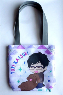 Mini Tote Bag Cartera De Anime Yuri On Ice Yuri Katsuki
