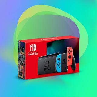 Nintendo Switch 2019 V2 Entrega Inmediata 1 Año De Garantía