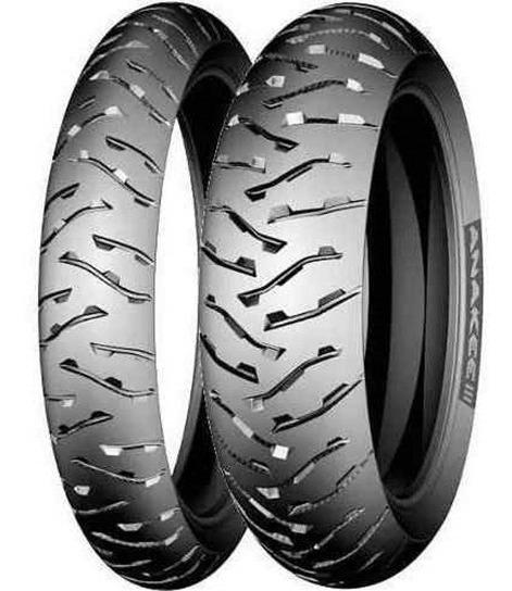 Par Pneu 140/80-17 90/90-21 Michelin Anakee 3 Bmw 1200 Gs