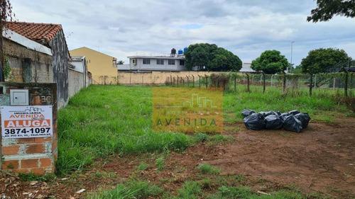 Terreno Para Alugar, 750 M² Por R$ 2.500/mês - Jardim America - Paulínia/sp - Te0444