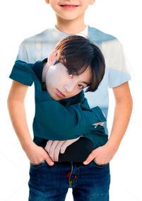 Camiseta Infantil Bts (bangtan Boys) Jungkook - M02