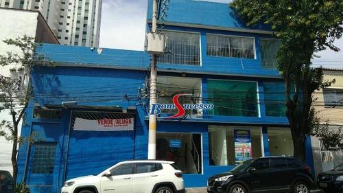 Prédio, 2000 M² - Venda Por R$ 14.000.000,00 Ou Aluguel Por R$ 25.000,00/mês - Tatuapé - São Paulo/sp - Pr0152