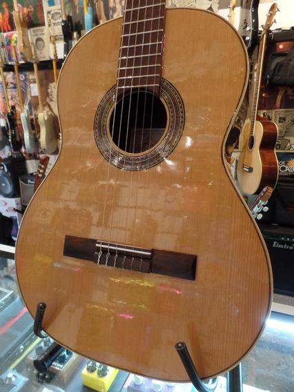Guitarra Clásica Criolla Bohemia Nro 40 Pino Nogal Alpaca