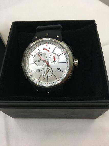 Relógio De Pulso Puma 96151 Preto Masculino 5atm Original