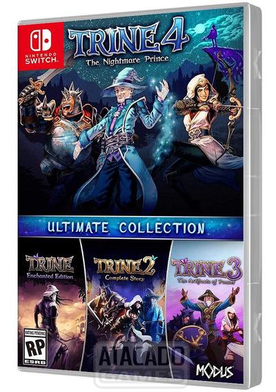 Jogo Trine Ultimate Collection Nintendo Switch Mídia Física