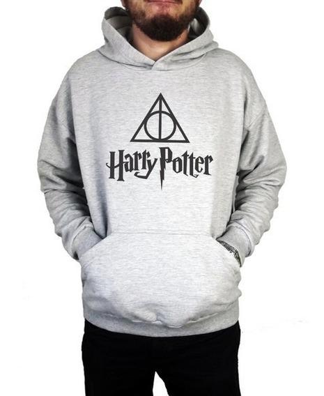Moletom Canguru Masculino Harry Potter Blusa De Frio Unissex
