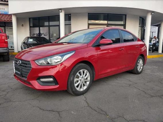 Hyundai Accent 1.6 Mid Rojo 2018