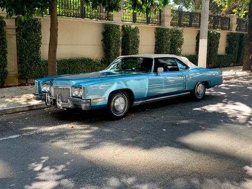 Imagem 1 de 8 de Cadillac Eldorado 1972-conversível