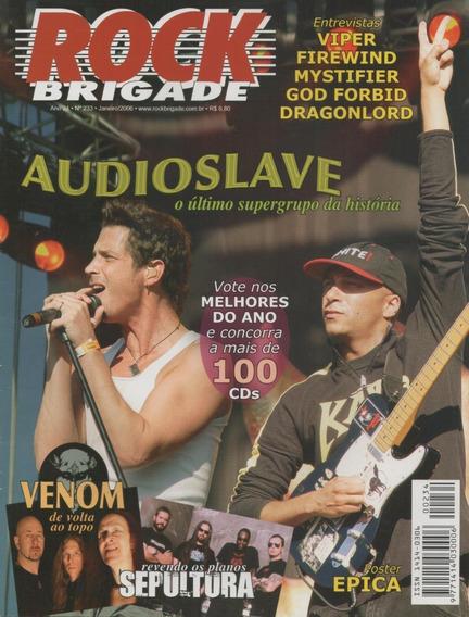Rock Brigade 233 Audioslave Viper Sepultura Venom Epica
