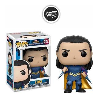 Funko Pop Loki 242 De Thor Ragnarok Marvel