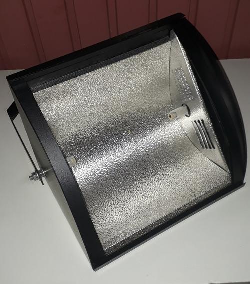 Kit 5 Canhão Refletor Set Light 1000w Preto