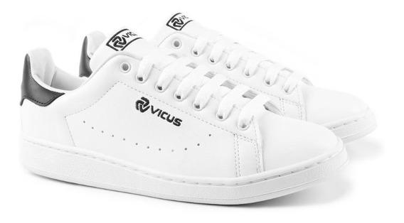 Zapatillas Vicus Furo Blanca Negra