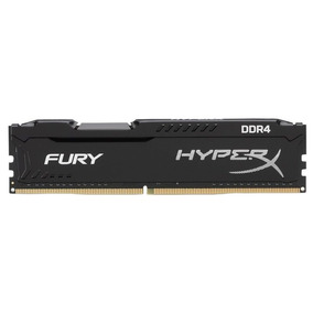 Memória 8gb Kingston Ddr4 2400mhz Cl15 Hyperx Fury-hx424c15f