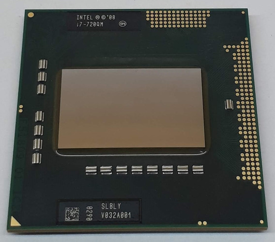 Procesador Intel Core I7-720qm / Slbly / Socket G1 Pga988a