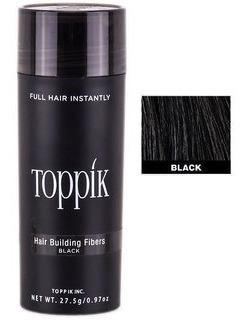 Toppik Hair 27,5 Black Preto Fibra Queratina Pronta Entrega