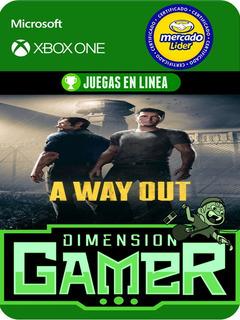 A Way Out - Xbox One Modo Local + En Linea
