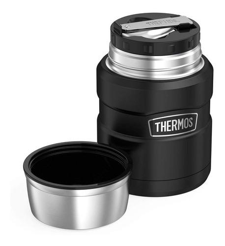 Termo Para Comida Thermos De Acero Inox Boca Ancha De 0,5 L