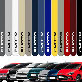 Friso Lateral Fiat Punto 2013 A 2017 Cor=carro