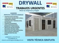 Drywall-electricista-maestro Albañil- Gasfitero-acabados