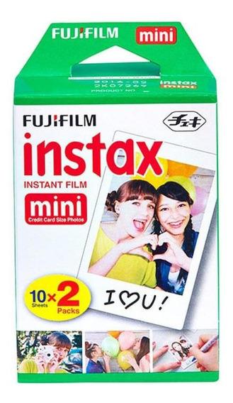 Filme Para Câmera Instântanea Fujifilm Instax Mini - Pack
