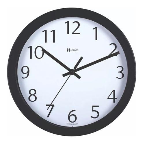Relógio De Parede 30 Cm Alumínio Herweg Ref. - 6711s - Excelente Praia | Mar - Não Enferruja - Garantia De 1 Ano.