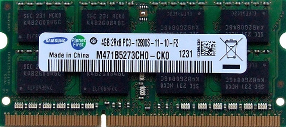 Memoria Notebook 4gb Ddr3 1600 Mhz - Samsung Oem Garantia