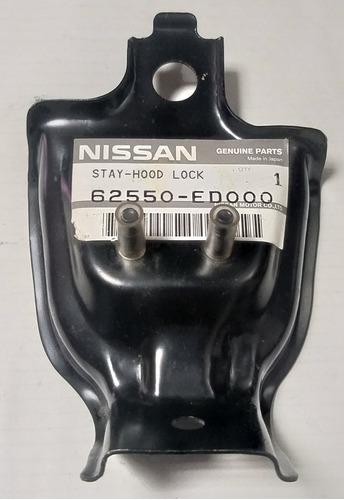 Imagen 1 de 4 de Base Cerradura De Capot Nissan Tiida 2006-2009 Original