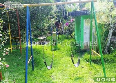 Casa Finca Amoblada En Barbosa Cod. 4968