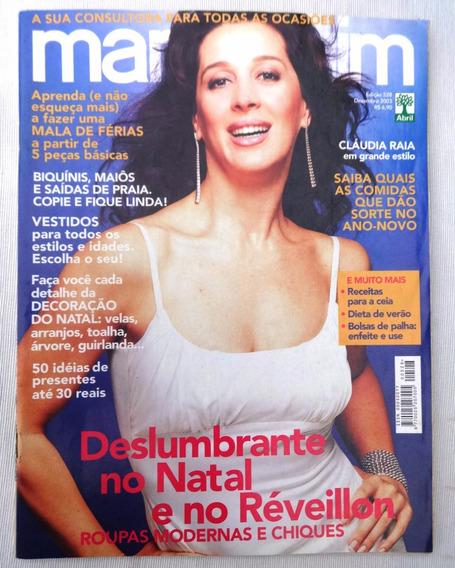 Revista: Manequim Nº 528 - Cláudia Raia - Inclui Os Moldes