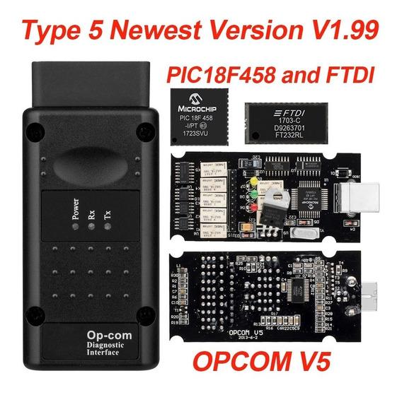 Opcom Scanner Gm Chevrolet V1.99 Versao Mais Recente