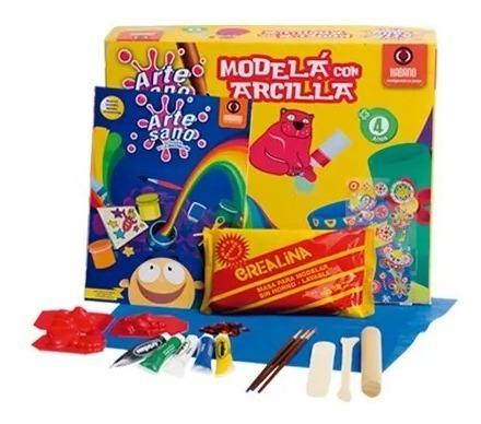 Modela Con Arcilla Kit Manualidades Artesano Marca Habano