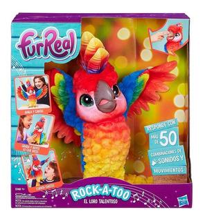 Mascota Rock A Too El Loro Talentoso Furreal Friends Hasbro