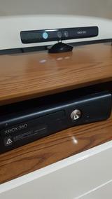 Xbox 360 4gb + 2 Controle + Kintect + 10 Jogos Originais