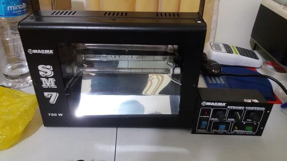 Strobo 750w Magma Com Caixa De Controle