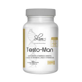 Testo-man 60 Cápsulas - Slim Weight Control